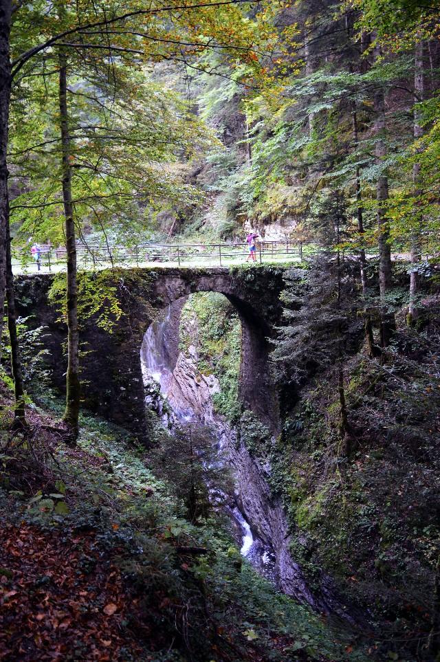 gorg d'abiss ponte romano valle di ledro
