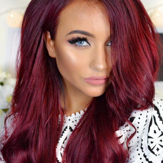 Frisuren Kurz Rot Modische Lange Frisuren