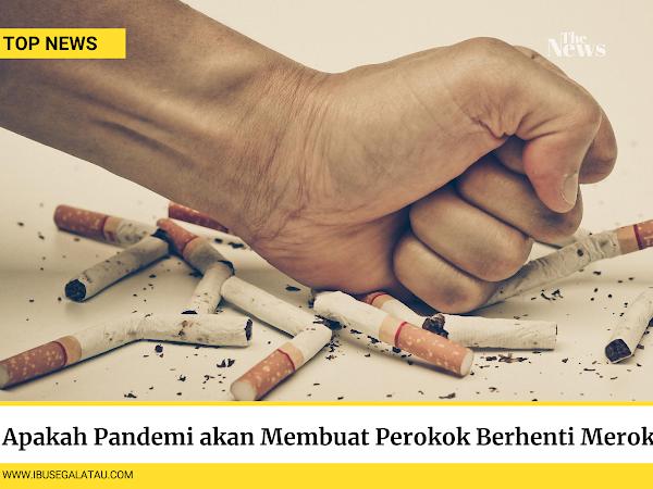 Apakah Pandemi Membuat Perokok Berhenti Merokok?