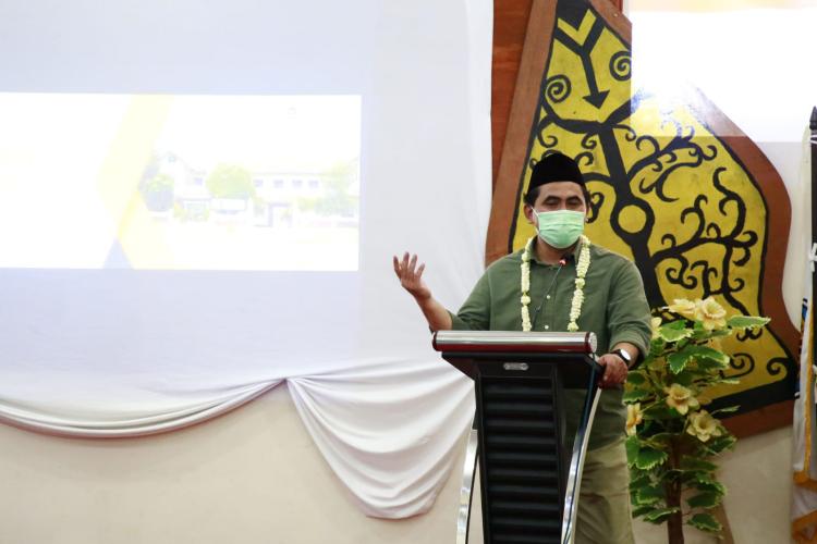 Sosialisasikan Program Pemerintah, Taj Yasin Siap Rangkul Para Sineas Muda