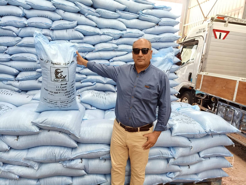 تهنئة بمناسبة افتتاح شركة عامر تريد للتنمية الزراعية بشبراخيت