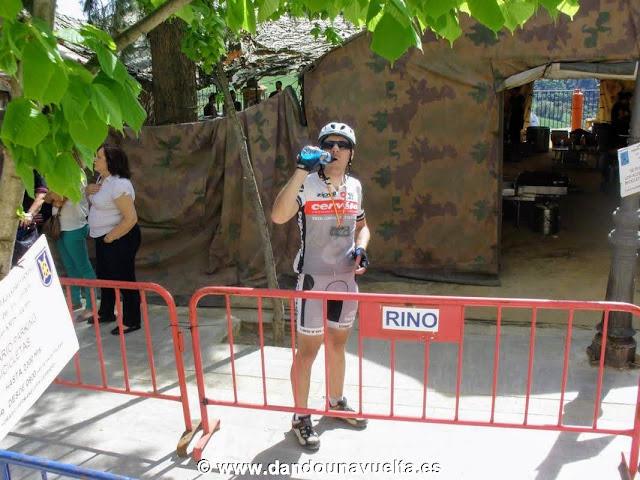 Tras pasar la meta 101 km la legión Ronda 2012