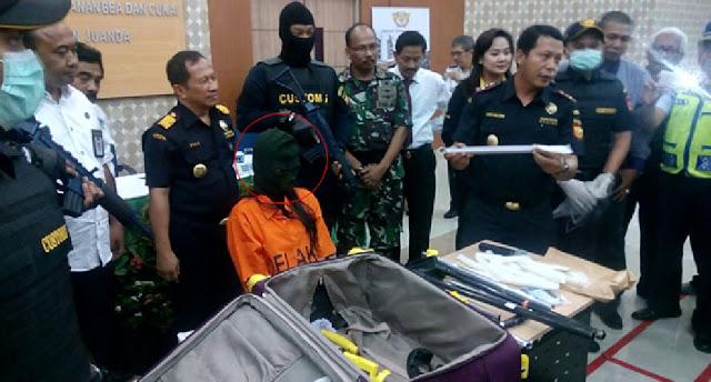 Bawa Pulang Sabu Dalam Gagang Koper, TKW Ini Tertangkap dan Dibekuk Petugas Bandara Juanda