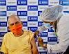 Idoso de 79 anos é o primeiro vacinado contra a Covid-19 em São Felipe.