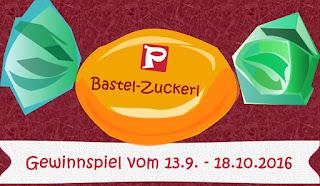 Poster: Bastel-Zuckerl, Gewinnspiel bis 18.10.2016