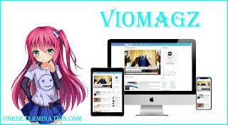 template blogger viomagz terbaru