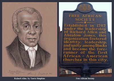 Richard Allen. Minister. Prince Hall Freemason. African Methodist Episcopal Church. by Travis Simpkins