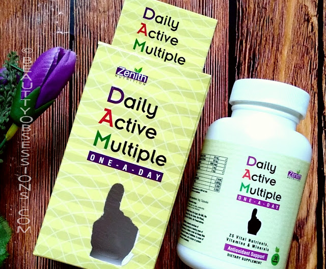 Zenith Nutrition Daily Active Multiple one-a-day | Review