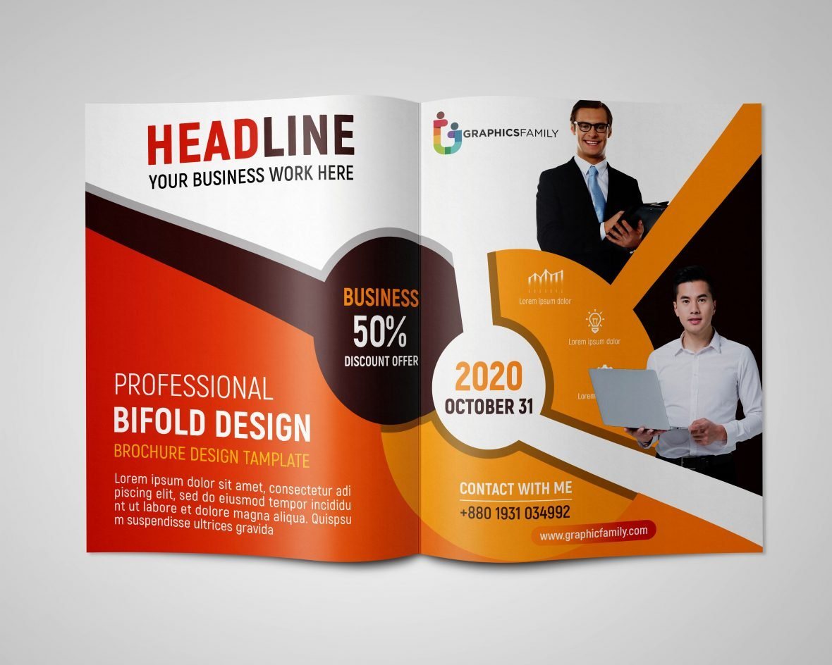 Professional Brochure Design In Photoshop