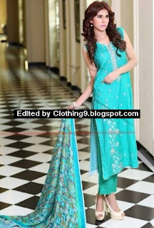 Embroidered Dress Collection 2015