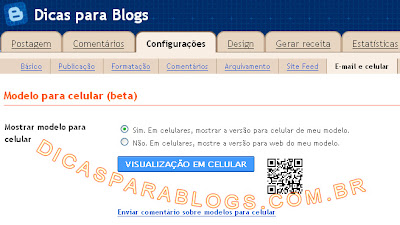 templates do blogger para celular