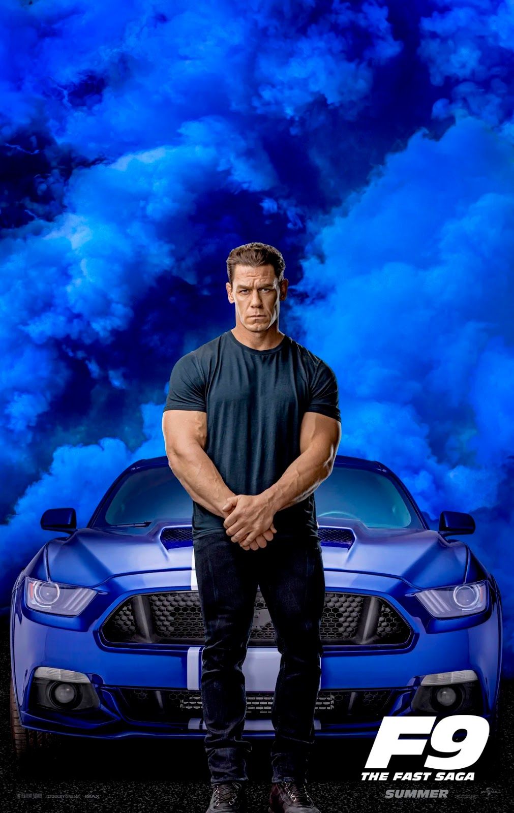 Velozes e Furiosos 9 - Poster John Cena