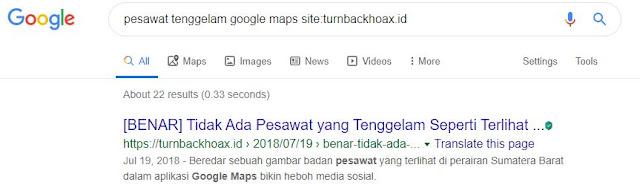 google search cek fakta