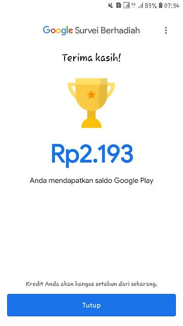 Google Opinion Rewards Aplikasi Penghasil Saldo Google Play