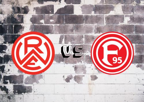 Rot-Weiss Essen vs Fortuna Düsseldorf  Resumen