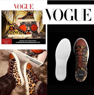 House Of Quito Carib (@houseofquitocarib) Launches New Shoe Line Alongside VOGUE Magazine