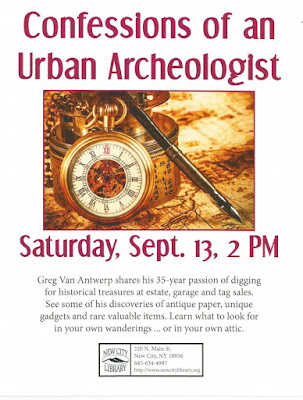 New City Library talk by the Urban Archeologist