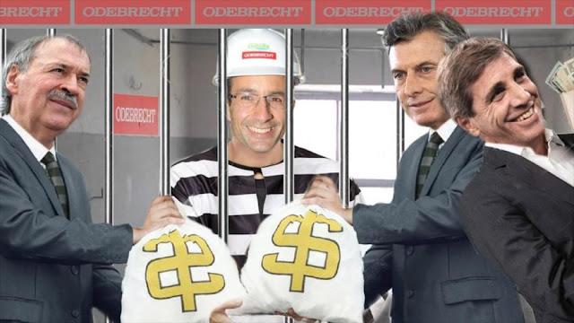 """""""Odebrecht pagó más de US$ 100 millones en Argentina"""""""