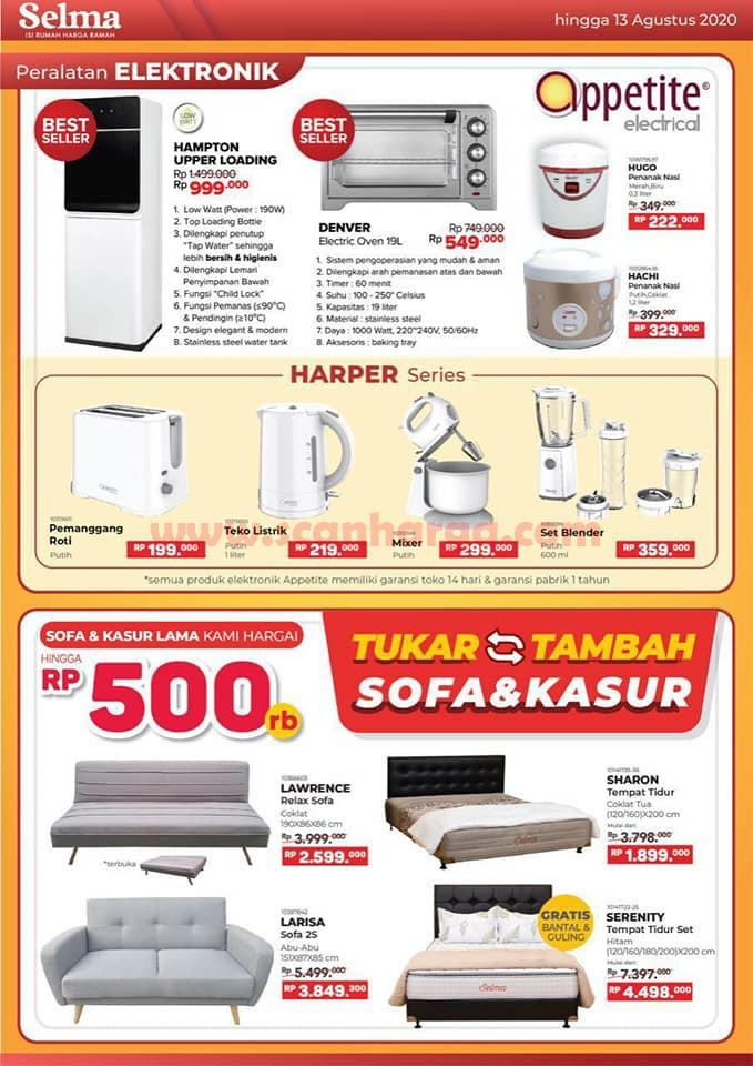 Katalog Promo SELMA Furniture Terbaru Juni Juli Agustus 2020 4