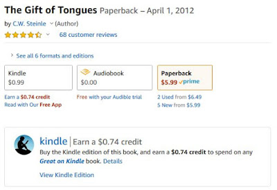 https://www.amazon.com/Gift-Tongues-C-W-Steinle/dp/099920484X