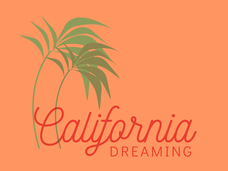 California Dreaming Graphic | biblio-style.com
