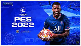 Download PES 2022 PPSSPP HD Graphics English Commentary Peter Drury V1.3 New Kits & Transfers 2021/22