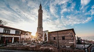 ankara'da gezilecek yerler arslanhane camii