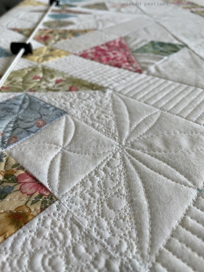 Quilt in Progress at Pieced Pastimes