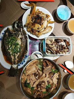 晚餐之羊腩支竹生菜煲