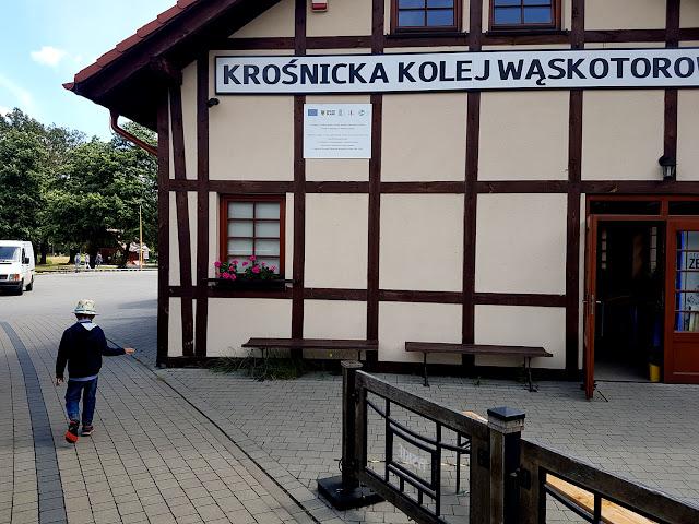 atrakcje dla dzieci na Dolnym Śląsku - Krośnicka Kolej Wąskotorowa - Krośnice koło Milicza - podróże z dzieckiem- blog rodzicielski - blog parentingowy - Park Krajobrazowy Doliny Baryczy