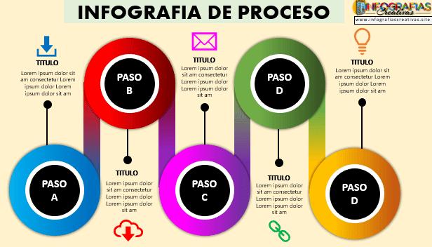 Plantilla infografía en PowerPoint 15
