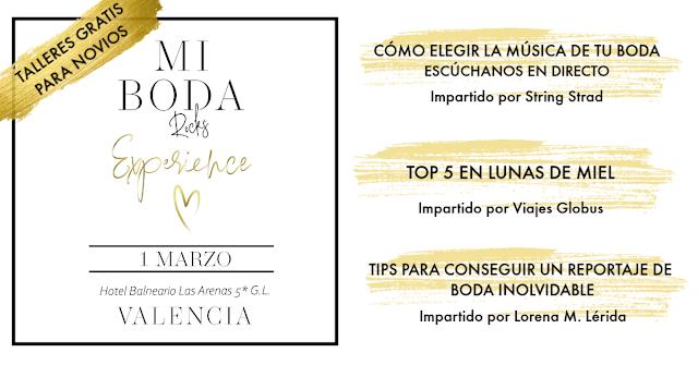 talleres gratis para novios mi boda rocks experience valencia 2020