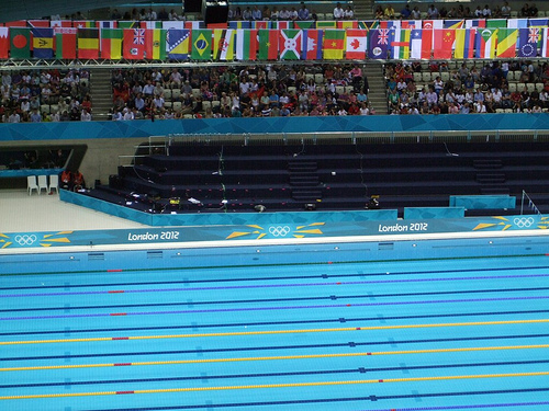 Aquatics Centre London 2012