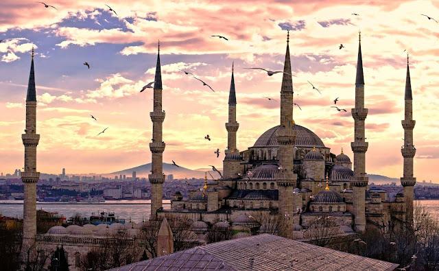 Mesquita Azul, Istambul - Turquia - Foto de lagoinha.com