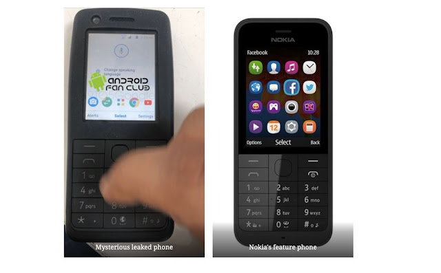 Nokia Android Feature Phone Spotted, Might Arrive Soon