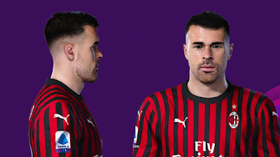 PES 2020 Faces Andrea Petagna by Prince Hamiz