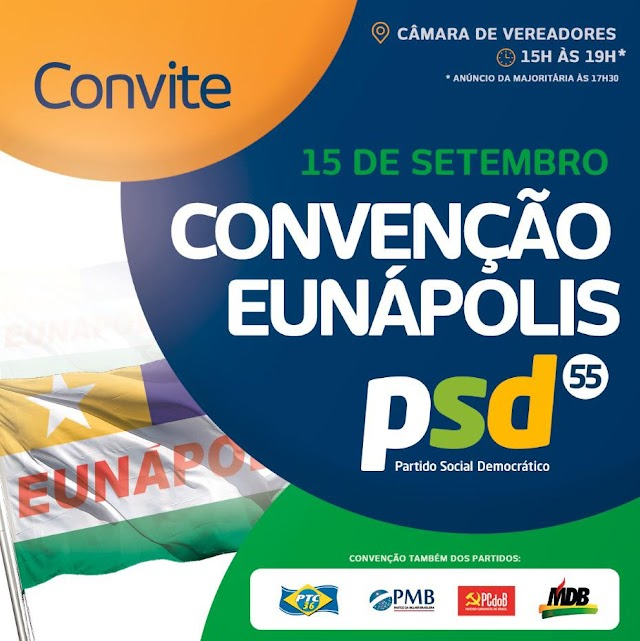 Convenção do PSD que lançará Robério Oliveira à reeleição será nesta terça-feira (15/09)