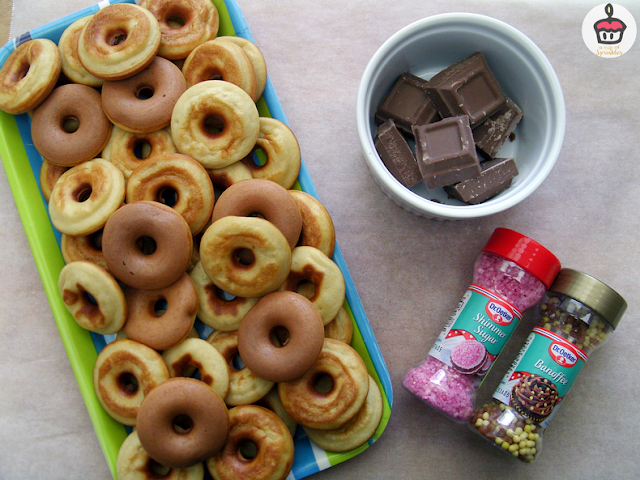 Donut maker recipe - Recette de donuts pour machine à donuts