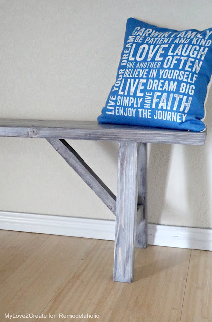 Building a bench the easy way