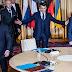 Com o aumento da crise na fronteira da Ucrânia com a Rússia, O Presidente Ucraniano Zelensky ignora Joe Biden, e pede ajuda a Emmanuel Macron para que ele traga paz à situação