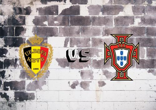 Bélgica vs Portugal  Resumen y Partido Completo