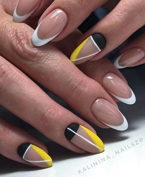trendy nail design for summer 2018