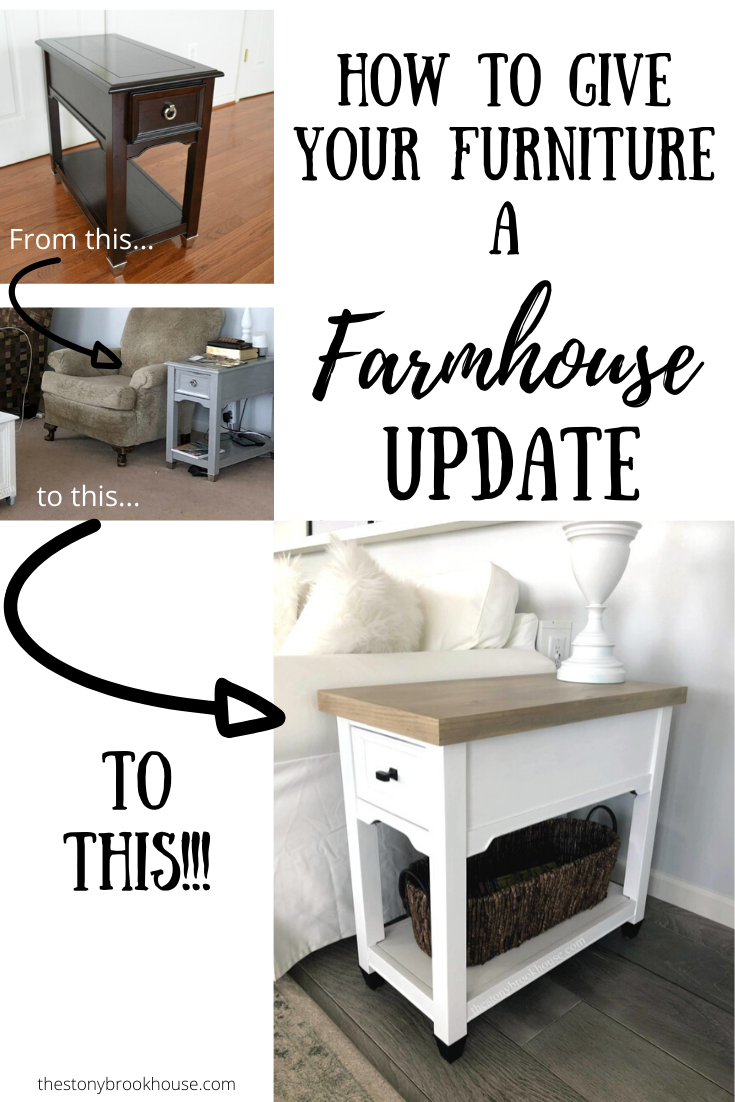 How to give your furniture a farmhouse update