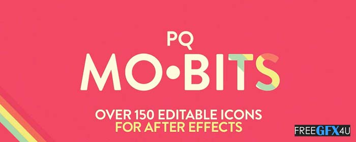 Bits 1.0 Editable Icons For After Effects