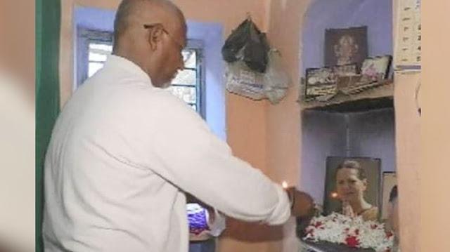 सोनिया गांधी की पूजा करता है ये शख्स, बोला जब तक PM नहीं बन जाती मुंड़वाता रहूंगा सिर - newsonfloor.com