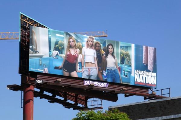 Assassination Nation movie billboard