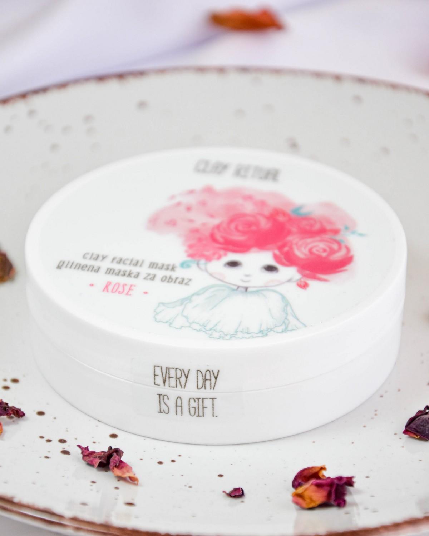 GlinaSi Clay Mask Rose