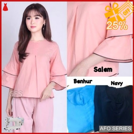 AFO416 Model Fashion Devisha Top Modis Murah BMGShop