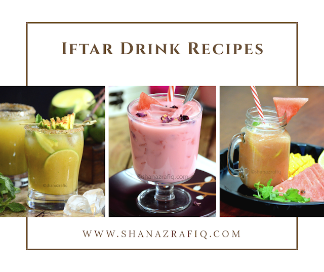 Iftar Drinks Recipes