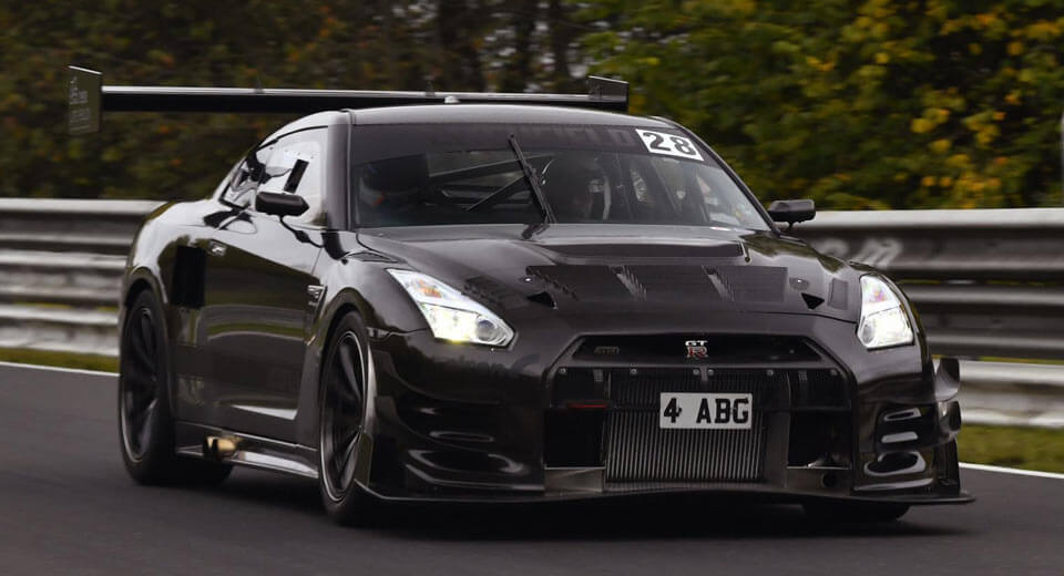 1 100 hp nissan gt r to attempt 39 ring record this weekend. Black Bedroom Furniture Sets. Home Design Ideas